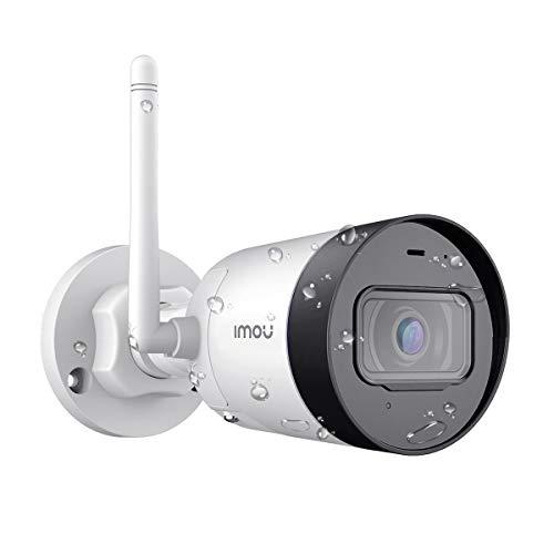 Imou Telecamera IP Esterno, Telecamera WiFi 4MP, Telecamera di Sicurezza IP67 Impermeabile con Sensore di Movimento, Visione Notturna 30m, Compatibile con Alexa/Google Home