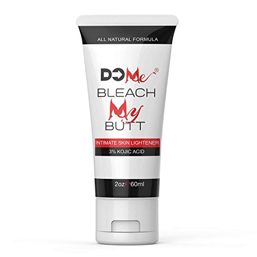Premium Intimate Skin Lightening Cream - Bleach My Butt - All Natural Formula for Genital Bleaching, Underarm Whitening, Fade Dark Spots - Pink Your Wink - 3% Kojic Acid (2oz)