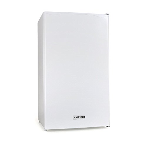 Klarstein 90L1-WH - frigorifero, capacit 90 L, 2 ripiani, cassetto, scompartimento ghiacchio...