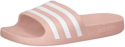 adidas Adilette Aqua, Slide Sandal Mujer, Dust Pink/Footwear White/Dust Pink, 39 EU