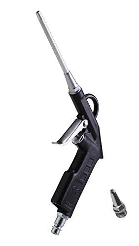 FERM Ausblaspistole - Max. 9 bar - Mit langen und kurzen düse