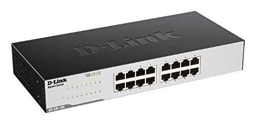 D-Link GO-SW-16G Gigabit Easy Ethernet Gigabit...