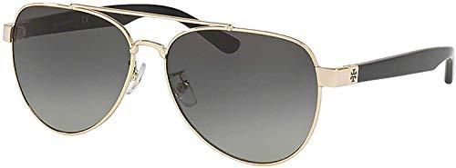 31wctgmuzUL Model: TY6070 | Color: 327111 Sunglasses SHINY LIGHT GOLD METAL w/ LT GREY GRADIENT Lens 100% Authentic New | 100% UV Protection EyeSize 57mm/ Bridge 14mm/ Temple 140mm