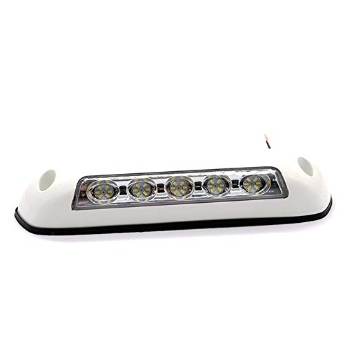 Carrfan 12V RV LED Veranda Portico Luce Impermeabile Camper Caravan Lampade da Parete per Interni Light Bar RV Van Camper