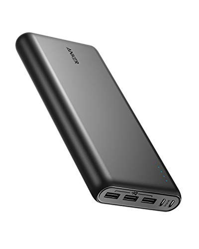 Anker PowerCore 26800 Portable Charger w/ Dual Input & Double-Speed Recharging, 3 USB Ports