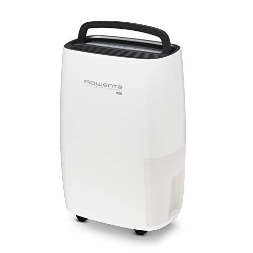 Rowenta Intense Dry Compact DH4236 deshumidificador de 16 L, con modo automático de deshumidificación con 3 programas, función Linen Dry, filtro, compacto, silencioso