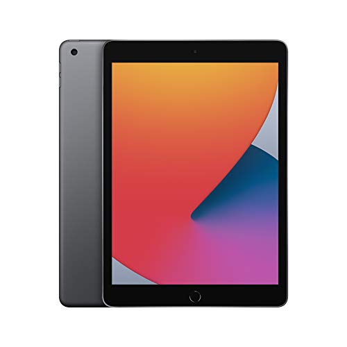 2020 Apple iPad with A12 Bionic chip (10.2-inch/25.91 cm, Wi-Fi, 32GB) - Space Grey (8th Generation)