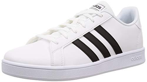 Adidas Grand Court K, Zapatos de Tenis, FTWR White/Core Black/FTWR White, 38 EU