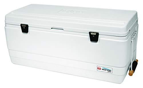IGLOO Marine Ultra Cooler (White, 128-Quart)