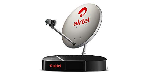 Airtel DigitalTV HD Set Top Box with 1 Month HD Pack