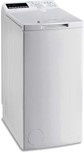 Privileg PWT E71253P (DE) Toplader Waschmaschine / A+++ / 7 kg / 1200 UpM /Soft-Opening/Daunen/Startzeitvorwahl/Wolle-Programm/Wasserschutz/Bügelleicht-Option/Kindersicherung