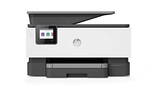 HP OfficeJet Pro 9010, Stampante Multifunzione a Getto di Inchiostro, Stampa, Scannerizza, Fotocopia, Fax, Wi-Fi, Wi-Fi Direct, Smart Tasks, 2 Mesi di Instant Ink Inclusi, Grigio