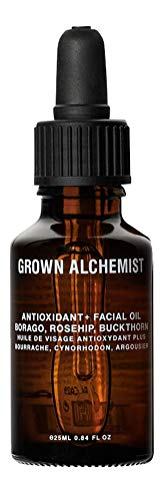 Grown Alchemist Antioxidant+ Facial Oil - Borago, Rosehip & Buckthorn - Hydrating Face Oil Serum, Clean Skincare (25ml / 0.84oz)