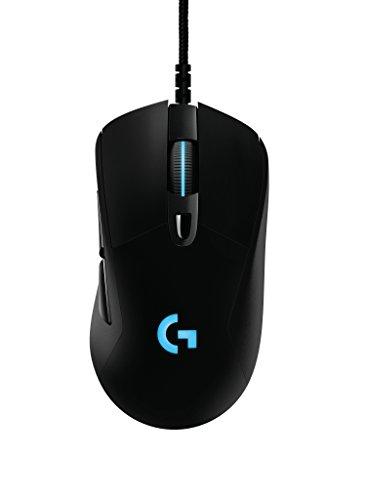Mouse RGB para Jogo com Fio G403 Prodigy, 16.8 Milhões de Cores de Iluminação de Fundo, 6 Botões Programáveis, Memória Onboard, Até 12.000 Dpi, Logitech G, Mouses