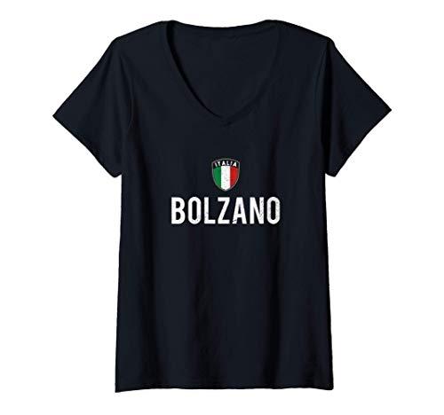 Donna Bolzano Maglietta con Collo a V
