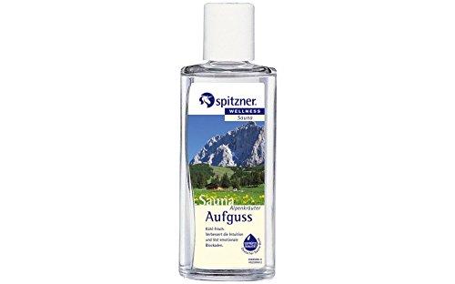 """Saunaaufguss """"Alpenkräuter"""" (190 ml) von Spitzner"""