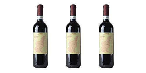 3 Bottiglie di Barbera del Monferrato DOC | Cantina Vicara | Annata 2017