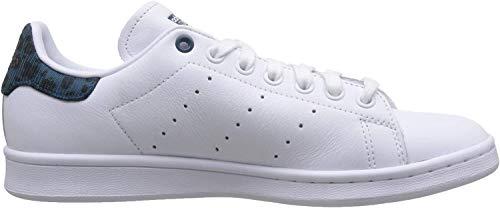 adidas Stan Smith W, Scarpe da Ginnastica Donna, Bianco (Ftwr White/Tech Mineral/Core Black Ftwr White/Tech Mineral/Core Black), 40 EU
