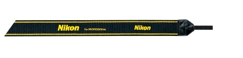 Nikon 一眼レフ用ネックストラップ スーパーワイドII シンプル イエロー 2335