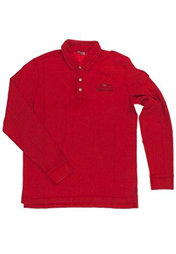 NAPAPIJRI Elbas LS A Polo, Rosso (Rojo (Old Red 094), Small Uomo