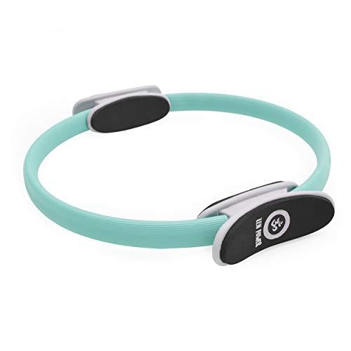 Zen Power Pilates Ring/Yoga Ring - Trainingsgerät für EIN effektives Kraft- und Widerstandstraining, Circle mit 38cm Durchmesser, Farbe: Türkis