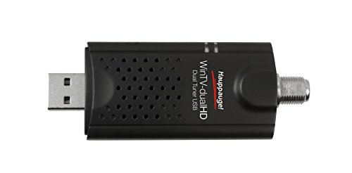 Hauppauge 1657 WinTV-dualHD Cordcutter Dual USB 2.0 TV Tuner for Nvidia Shield and Windows PC