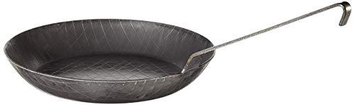 Turk 65230 Schmiedeeisen-Pfanne mit Hakenstiel, 28 cm