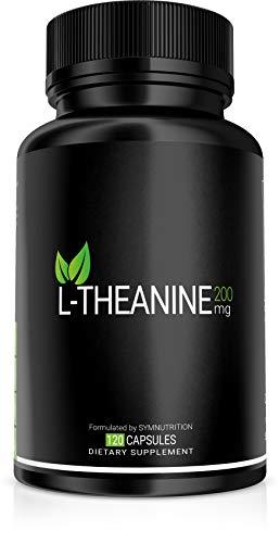 L-teanina 200 mg - 120 V-cápsulas | Tomado por su capacidad para promover el alivio del estrés, la relajación y el enfoque