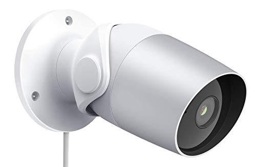 Telecamera Esterna di Sorveglianza WiFi Onvif 1080P FHD, Telecamera di Sorveglianza Domestica O1 con IP65 Impermeabile, Visione Notturna