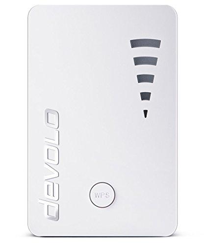 Devolo WiFi Repeater ac (1200 Mbit/s, 1x Port Gigabit, WPS, Répéteur...