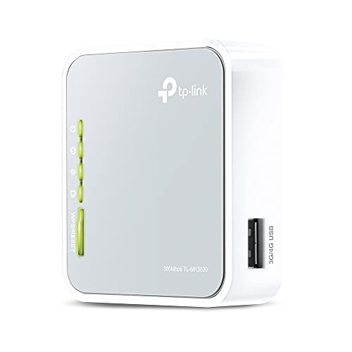 TP-LINK TL-MR3020 Router 3G/4G Portatile Wireless N 150 Mbps