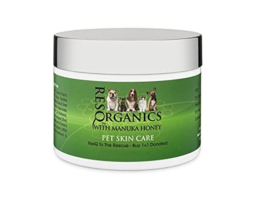 ResQ Organics Pet Skin Treatment 2oz - Nourish and...
