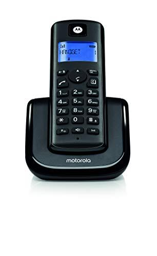 Motorola T201I Digital Cordless Landline Phone (Black)
