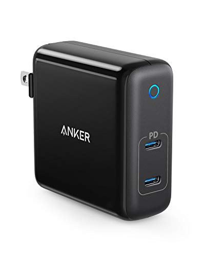 Anker PowerPort Atom PD 2(PD対応 60W 2ポート USB-C急速充電器)【PSE認証済/Power Delivery対応/GaN (窒...