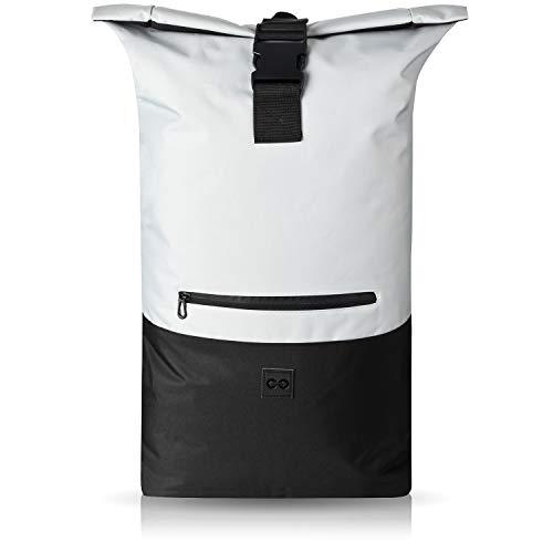 URBAN ZWEIRAD Roll-Top Rucksack 35l - Lifestyle Rucksack für den Alltag - Wasserabweisend...