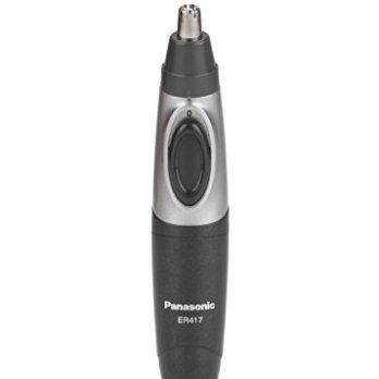 Panasonic ER417K44B Nose and Hair Battery Operated Ergonomic Design Trimmer