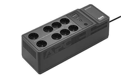 """APC Back-UPS """"Essential"""" BE650G2-FR - Onduleur parafoudre avec batterie de secours de 650VA (8 prises, parasurtenseur, 1 port de charge USB rapide Type-A)"""