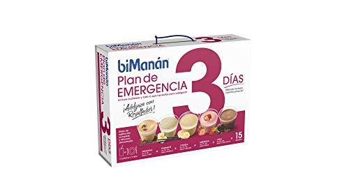 BiManán Plan Emergencia 3 días - Batidos sustitutivos de l