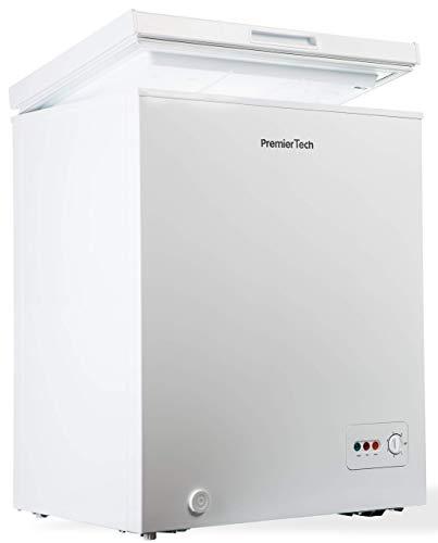 Premiertech Congelatore a Pozzetto 100 litri con cestello e ruote -24gradi A++ 4**** Stelle PT-CP100