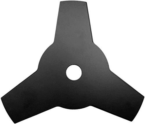 3T - Lama per decespugliatore a 3 denti con foro da 25,4 mm, in acciaio