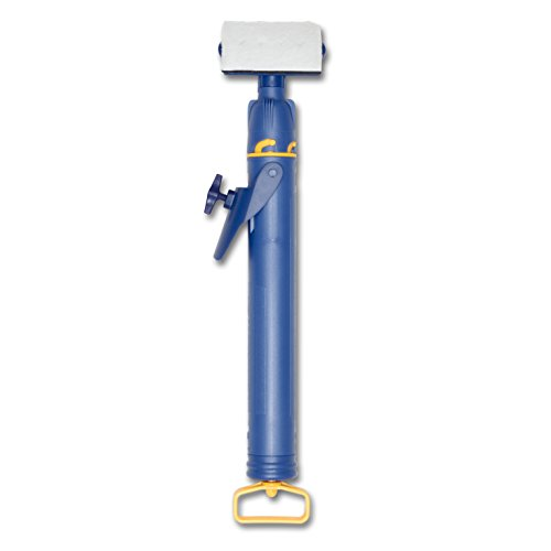 HomeRight Quick Painter Pad Edger with Flow Control C800699, Adjustable Flow Knob for Painting, Painting Tool, Painting Edger for Painting Walls,Blue, yellow and white