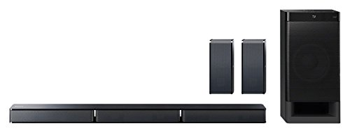 Sony HT-RT3 Real 5.1ch Dolby Audio Soundbar for TV with Rear Speakers & Subwoofer, 5.1ch Home Theatre System (600W, Soundbar for TV, Bluetooth Connectivity,HDMI & Optical Connectitvity, USB Playback)