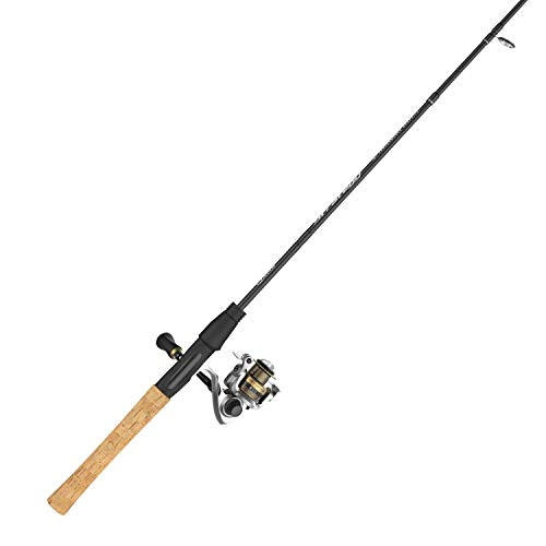 Quantum Strategy Spinning Reel and Fishing Rod Combo, IM7 Graphite Rod with Cork Handle, Continuous Anti-Reverse Clutch Fishing Reel, Multi (SR10601MLA.NS4)