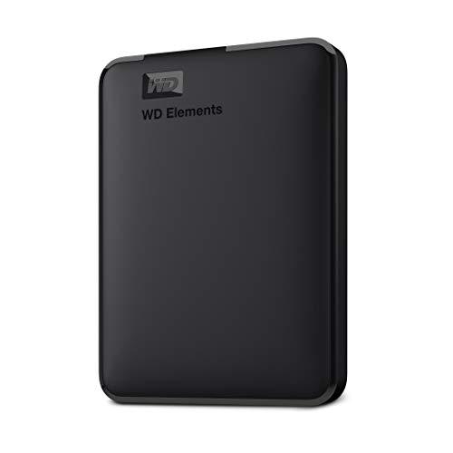 WD 5TB Elements Portable, Hard Disk Esterno Portatile, USB 3.0