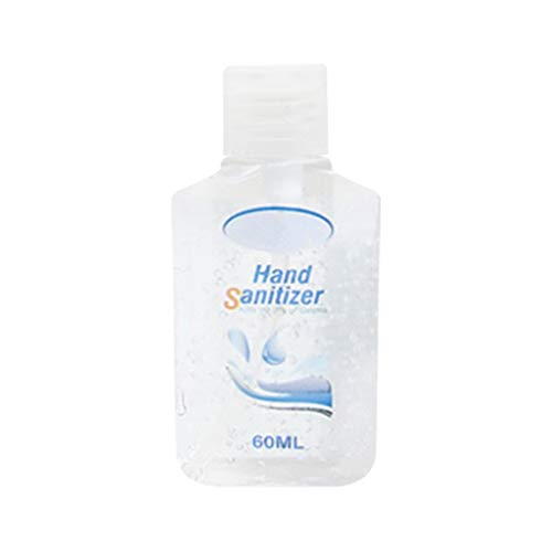 Kitt Refreshing Hand Sanitizer Gel, Washless Hand Soap Gel, 60/120/240/300ML Super-Large Capacity Household Cleaning Gentle Hydrating Hand Sanitizer Soothing Gel,Non-irritating,Pump Bottle (60ML)