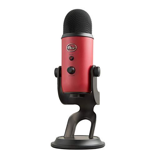 Blue Yeti USB Microphone - Satin Red