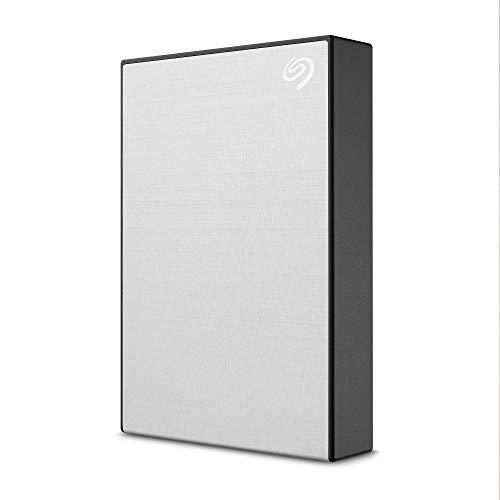 Seagate One Touch 5To, Disque dur externe HDD – Argent, USB3.0, pour PC portable et Mac,...
