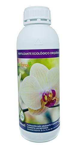 CULTIVERS Fertilizante Ecológico Orquídeas Líquido de 1 L. Crecimiento Saludable, Mayor Floración e Intensifica el Color. con Macronutrientes y Micronutrientes. Abono 100% Orgánico y Natural