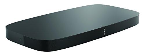 Sonos Playbase WLAN Soundbase, schwarz – Fernsehlautsprecher mit kraftvollem Sound für Heimkino & Musikstreaming – Erweiterbarer WLAN Speaker mit Airplay