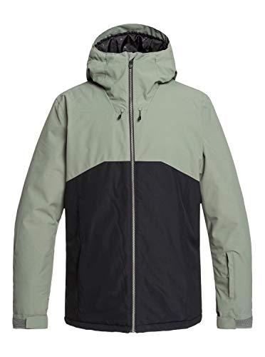 Quiksilver Sierra, Giacca da Sci/Snowboard Uomo, Agave Green, XS
